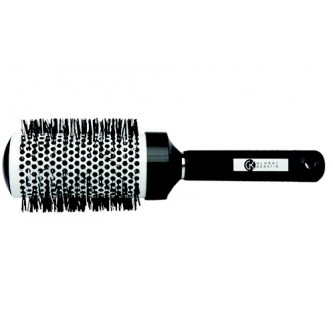 GKhair - Thermal Round Brush 65 щітка кругла чорно-біла